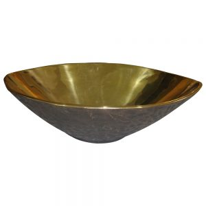 Cast Bronze Sink Yellow Bronze