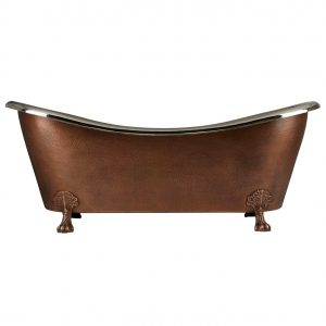 Clawfoot Design Copper Bathtub