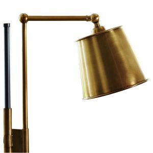 Bronze Brass Task Floor Lamp