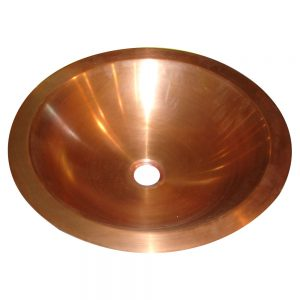 Copper Sink Smooth Finish