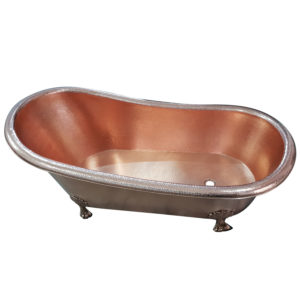 Clawfoot Copper Tub